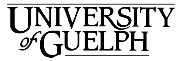 University of Guelph Logo